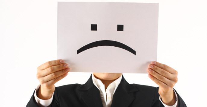 7 pensieri che fa una persona infelice