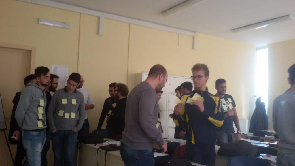ITS CUCCOVILLO: post-it, team working e problem solving
