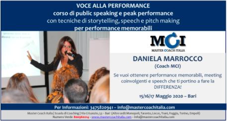 Voce alla Perfomance – L'esperienza di Chiara Morini