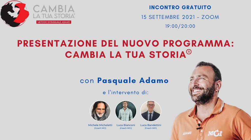 Adamo Experience: Cambia la Tua Storia
